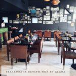 RESTAURANT REVIEW    NOK by ALARA
