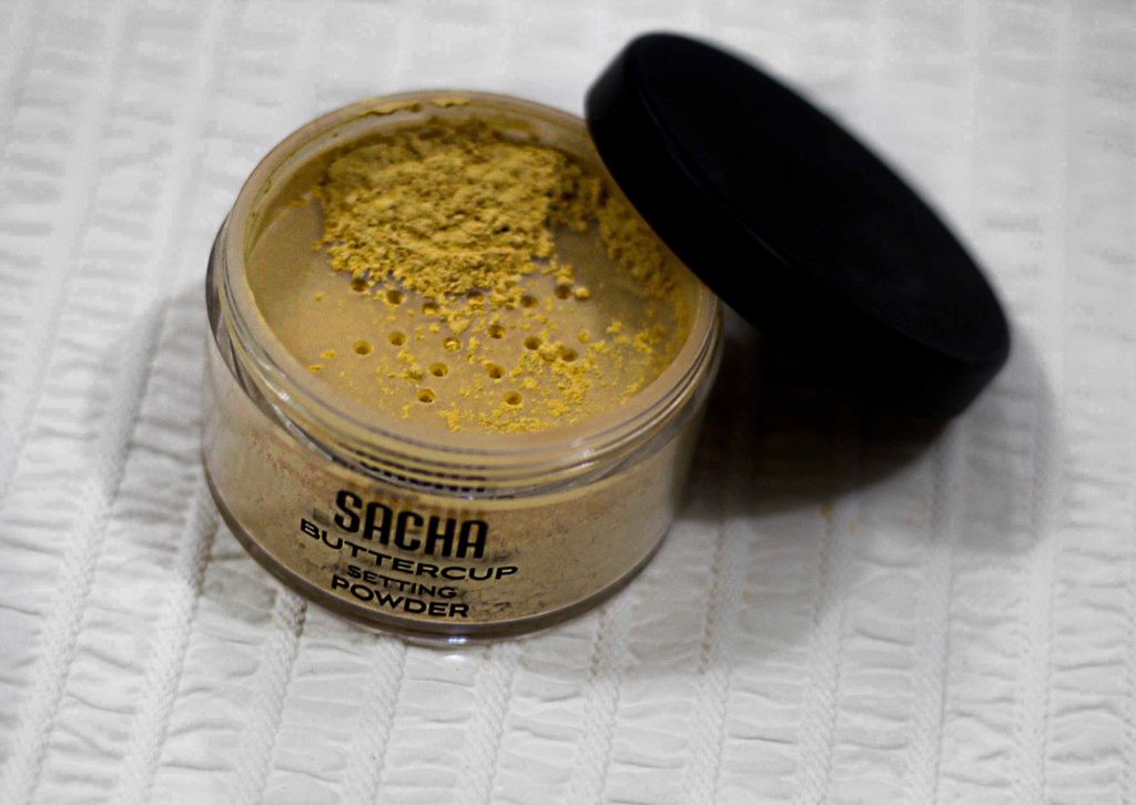 sacha buttercup setting powder