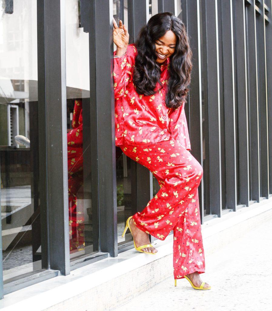 pyjama styling