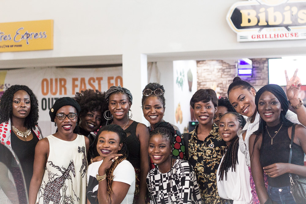RESTAURANT REVIEW : A GROUP OF BLOGGERS AT AN EVENT IN LAGOS