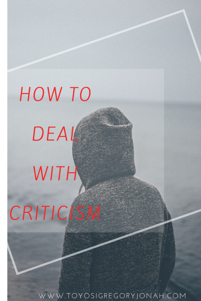 how to deal with criticism ,types of criticism ,how to criticise constructively