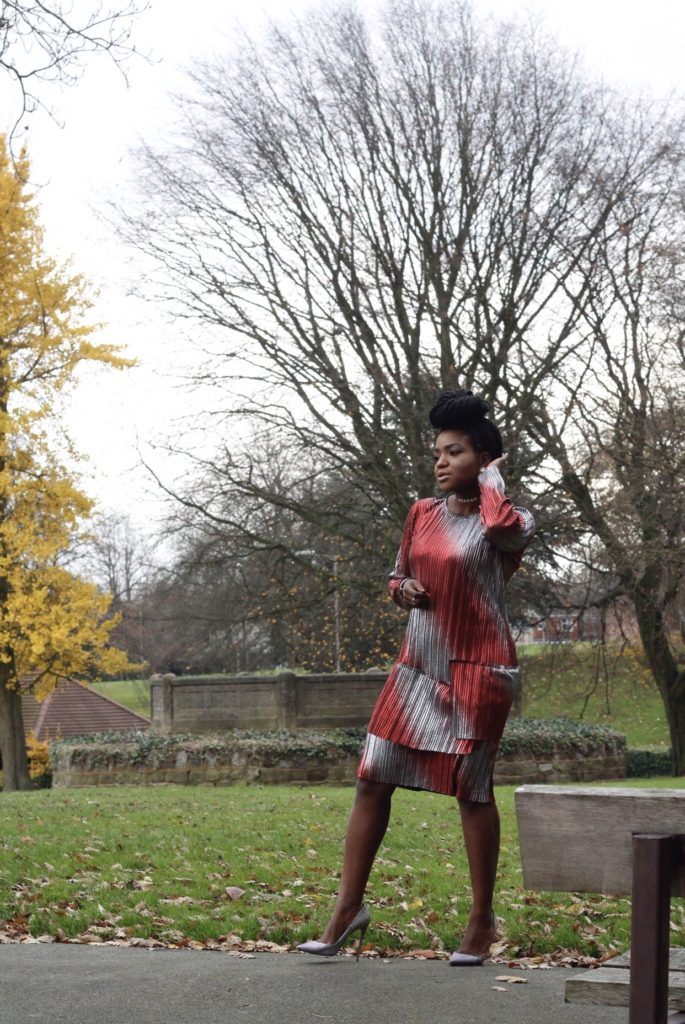 christmas style ,red and silver foil dress ,shift dress ,desire1709 ,so kate glitter ,christian louboutin shoes ,christmas style ,what to wear