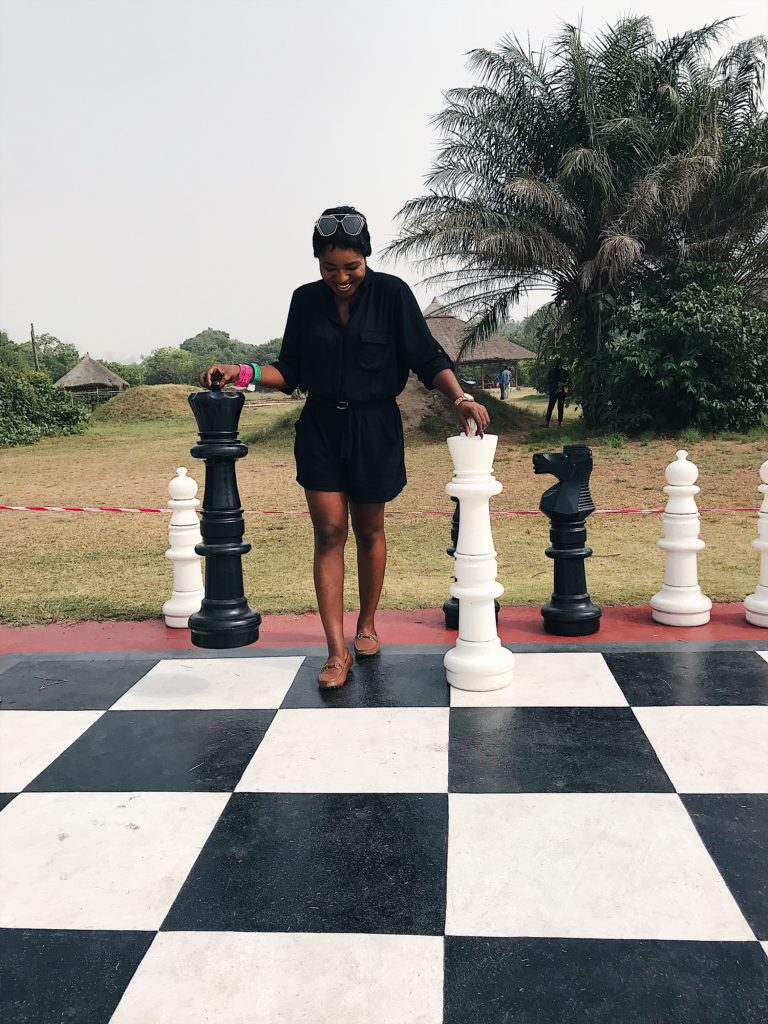 Lekki conservation center ,family day out ,where to visit in lagos ,chess board games