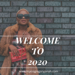 WELCOME TO 2020!