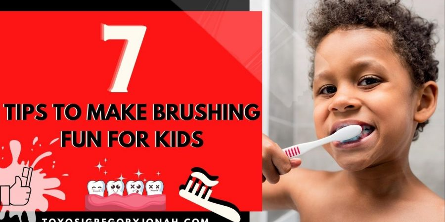 Tips to make brushing fun for children