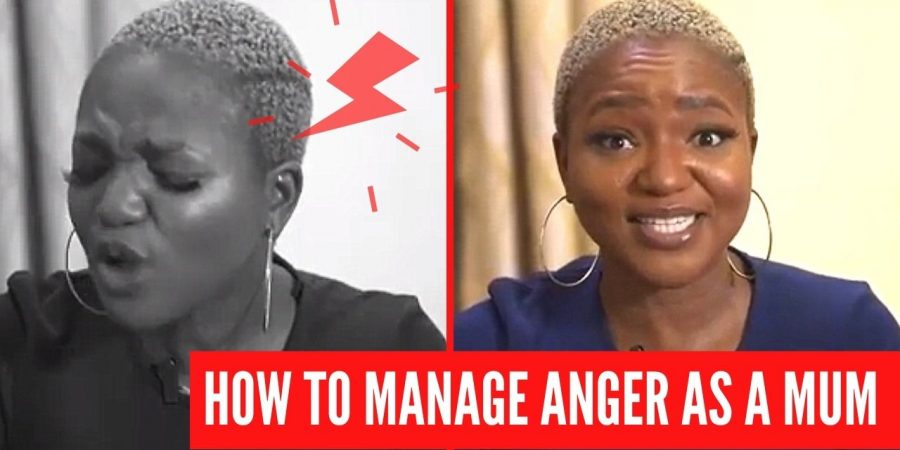 manage anger as a mom