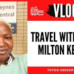 VLOG : TRAVEL WITH ME TO MILTON KEYNES |TRAVEL ESSENTIALS FOR A FUN JOURNEY